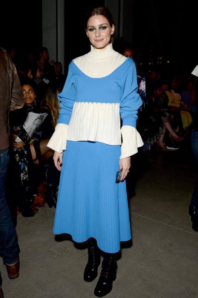 <p>Style muse Olivia Palermo gave us major outfit envy, as she sat FROW at the Prabal Gurung show. <em>[Photo: Getty]</em> </p>