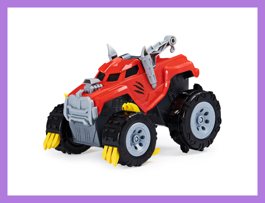 The Animal, Interactive Unboxing Toy Truck with Retractable Claws and Lights and Sounds. (Photo: Walmart)
