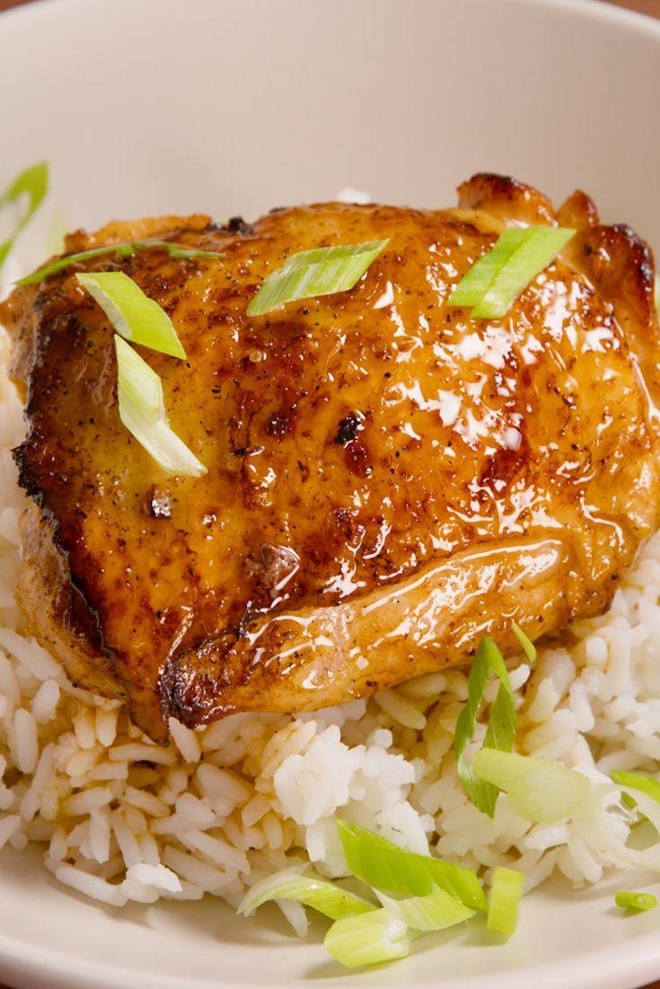"""<p>Basic chicken and rice gets a sweet and tangy twist.</p><p>Get the recipe from <a href=""""/cooking/recipe-ideas/recipes/a49271/honey-lime-chicken-recipe/"""" data-ylk=""""slk:Delish"""" class=""""link rapid-noclick-resp"""">Delish</a>.</p>"""