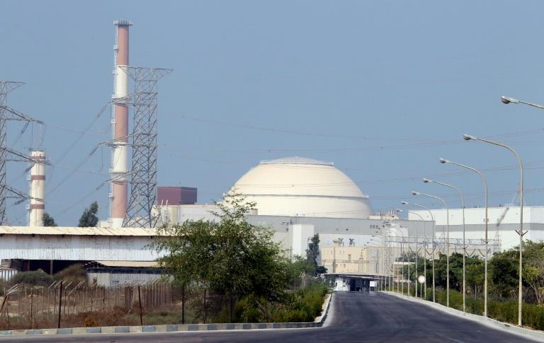 This file photo taken on August 20, 2010 shows the reactor building at the Bushehr nuclear power plant in southern Iran