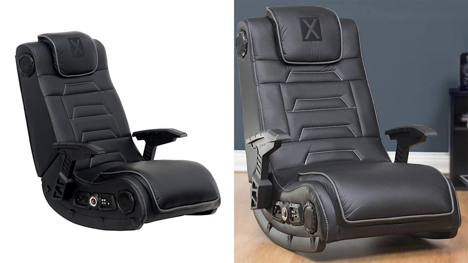 This gaming chair helps create a more immersive experience.