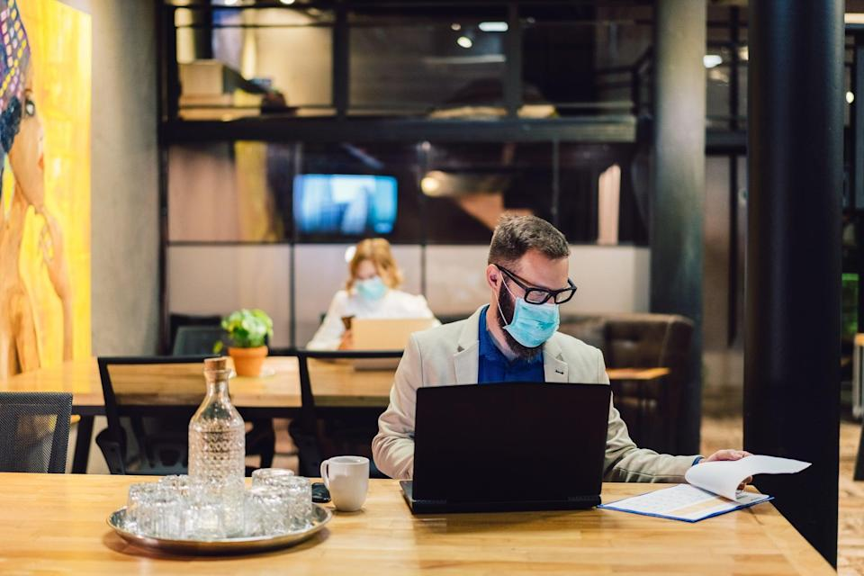 <p>CDC set to relax indoor mask-wearing guidance for fully vaccinated people</p> (Getty/iStock)
