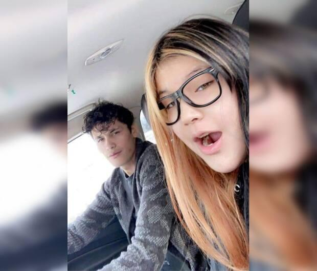 Dakota Opikokew and Clarissa Martell are both from Canoe Narrows, Sask., and police believe they are together.  (Submitted by RCMP - image credit)