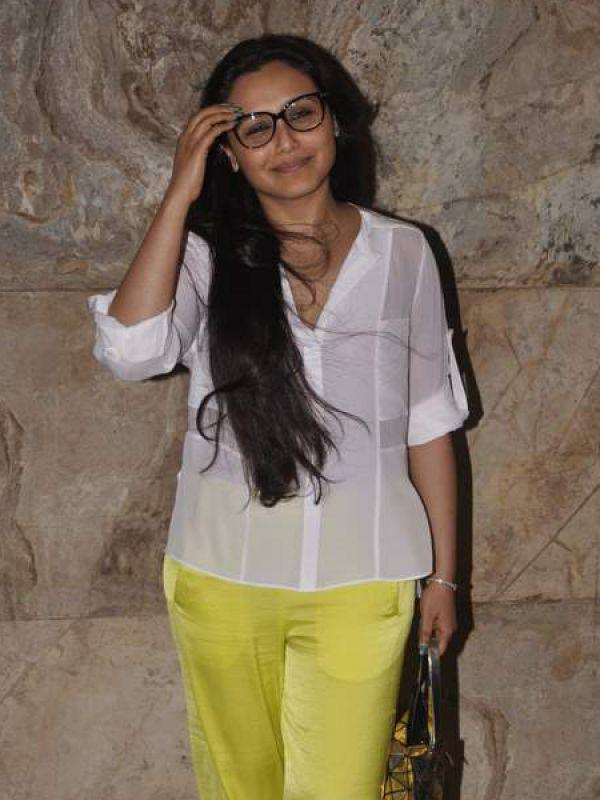 "<p><strong>Rani Mukherji</strong>: Rani looked adorable in her oversized black frames.<br /><br /><strong>Vote: <a href=""http://idiva.com/versus-style-beauty/vote-rani-mukherji-vs-sonakshi-sinha-in-nerd-glasses/22975"" target=""_blank"">Rani Mukherji Vs Sonakshi Sinha in Nerd Glasses</a></strong></p>"