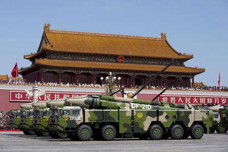 China takes lead in some military tech - Pentagon