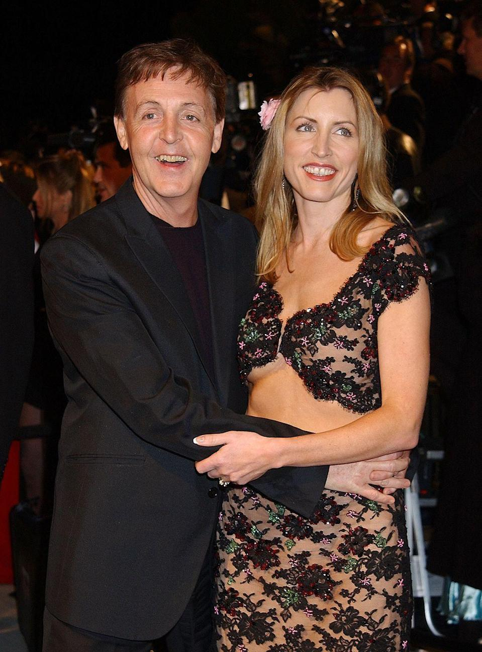 "<p>The second wedding for Paul McCartney and Heather Mills, held at a remote castle in Glaslough, Ireland, cost the couple $3 million. Over 300 friends and family attended the event that strictly catered <a href=""https://www.billboard.com/articles/news/75451/paul-mccartney-married-in-ireland"" rel=""nofollow noopener"" target=""_blank"" data-ylk=""slk:only vegetarian options"" class=""link rapid-noclick-resp"">only vegetarian options</a> to its guests. The couple split in 2008. </p>"