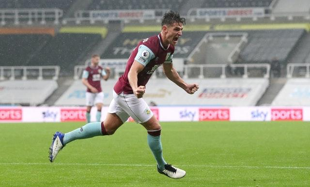Ashley Westwood equalised for Burnley, who remain pointless