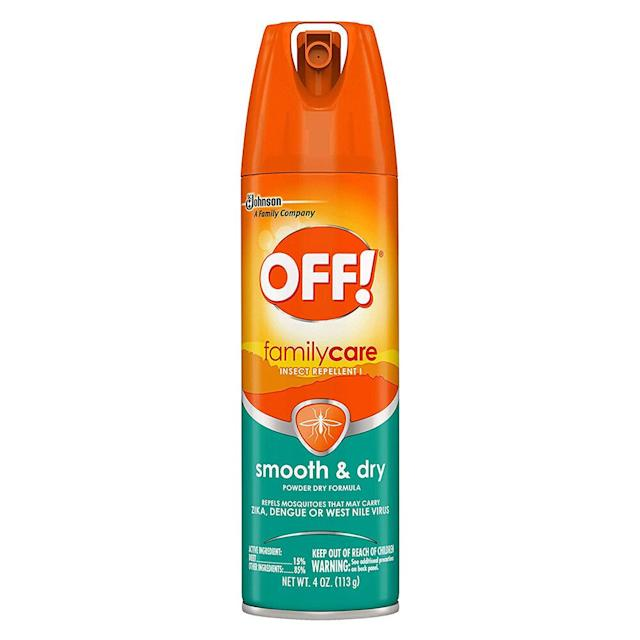 Off! FamilyCare Smooth & Dry Insect Repellent. (Photo: Amazon)