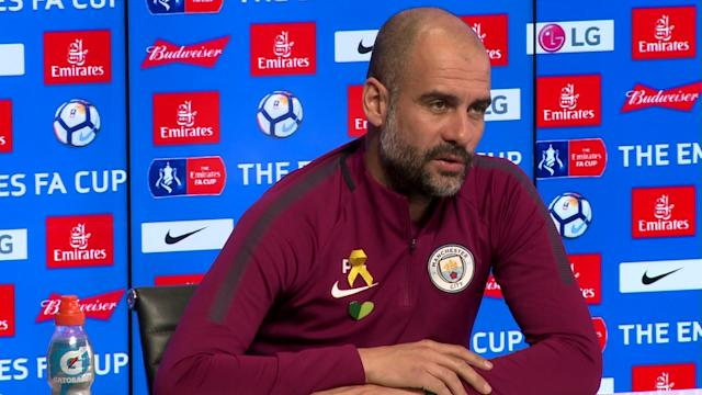 Pep Guardiola says he is wary of Wigan Athletic after they eliminated his favourite Premier League side to watch, Bournemouth, from the FA Cup.