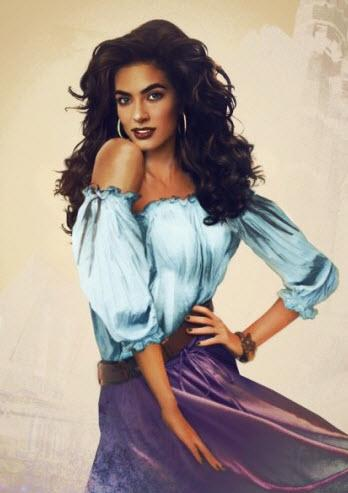 """We can understand why everyone is obsessed with Esmeralda, the stunning gypsy in """"The Hunchback of Notre Dame.""""<br><br> All photos by: <a href=""""http://www.jirkavinse.wordpress.com"""" rel=""""nofollow noopener"""" target=""""_blank"""" data-ylk=""""slk:jirkavinse.wordpress.com"""" class=""""link rapid-noclick-resp"""">jirkavinse.wordpress.com</a>"""