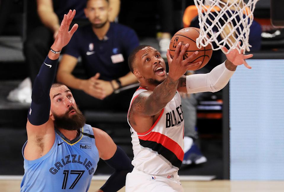 Western Conference No. 8 seed, Playoff Race, Damian Lillard, Devin Booker