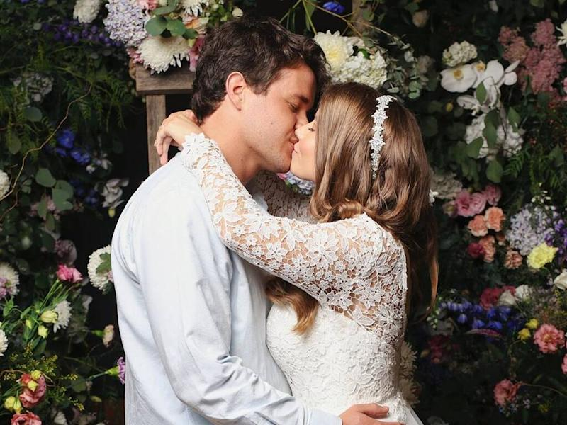 Bindi Irwin marries Chandler Powell in private ceremony