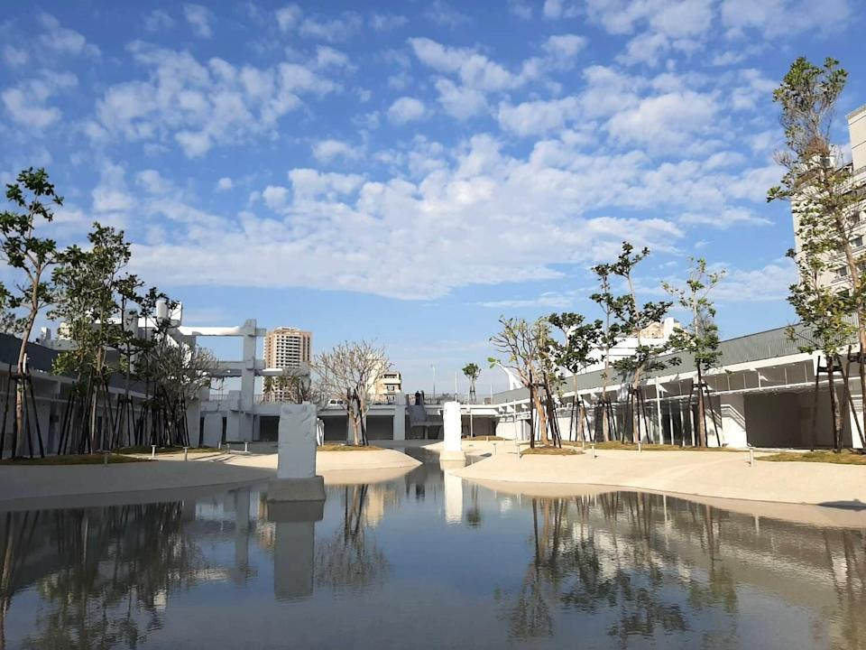 <p>台南市最大親水公園即將於3月開幕|Tainan's biggest river park will open to the public in March. (Courtesy of Tainan City Government)</p>