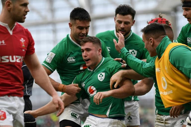 Ireland's Larmour to miss Six Nations finale