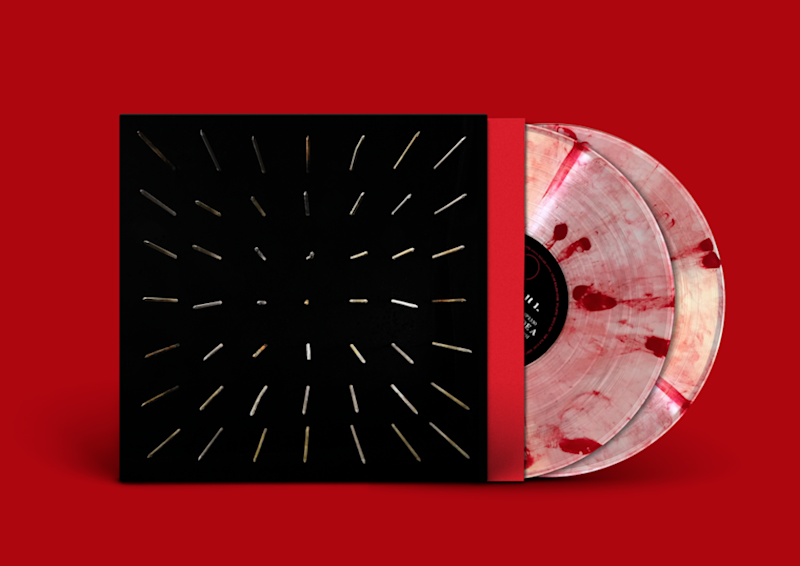 There Existed an Addiction to Blood album artwork by Clipping