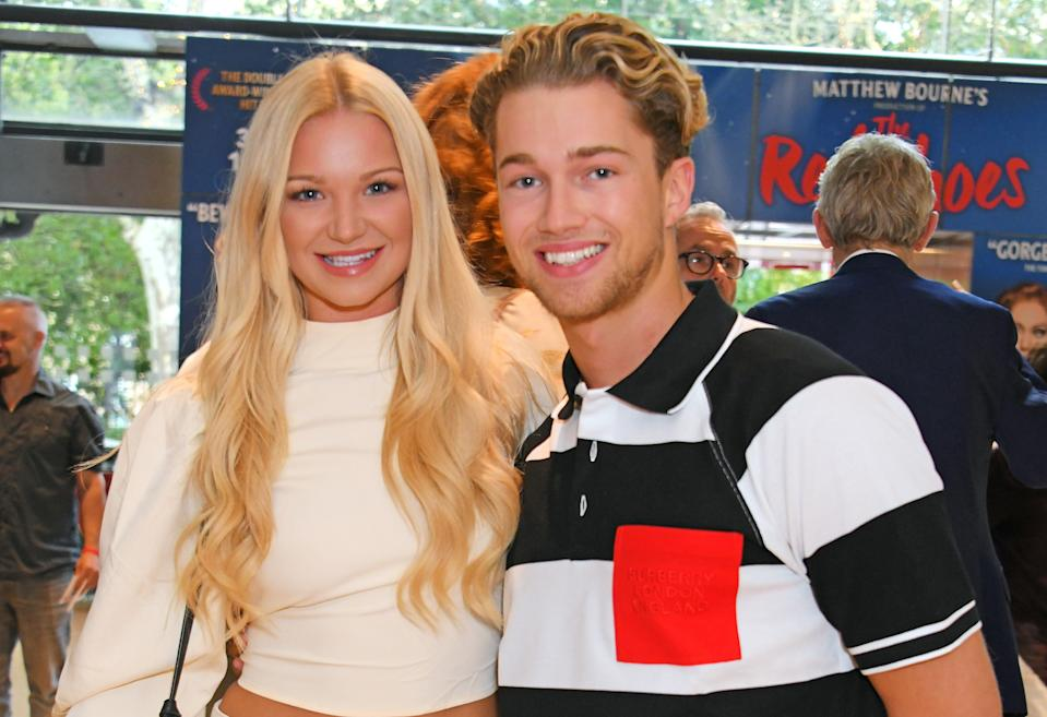 AJ Pritchard with girlfriend Abbie Quinnen (Getty Images)