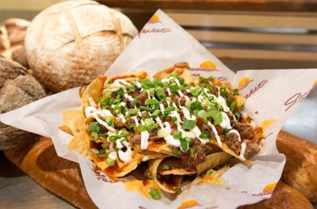 The Padres' Seaside Market's Tri-Tip Nachos (MLB)