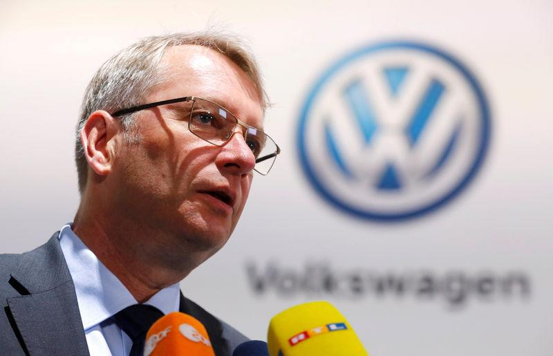 Volkswagen Group's annual general meeting in Berlin