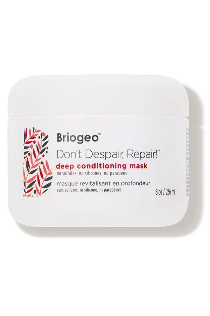 """<p><strong>Briogeo</strong></p><p>dermstore.com</p><p><a href=""""https://go.redirectingat.com?id=74968X1596630&url=https%3A%2F%2Fwww.dermstore.com%2Fproduct_Dont%2BDespair%2BRepair%2BDeep%2BConditioning%2BMask_56505.htm&sref=https%3A%2F%2Fwww.cosmopolitan.com%2Fstyle-beauty%2Fbeauty%2Fg34249240%2Fdermstore-hair-sale-2020%2F"""" rel=""""nofollow noopener"""" target=""""_blank"""" data-ylk=""""slk:Shop Now"""" class=""""link rapid-noclick-resp"""">Shop Now</a></p><p><del>$36<br></del><strong>$27 (25 percent off)</strong></p><p>Created for all hair types, celeb-favorite Briogeo's clean products contain a slew of antioxidants and vitamins that make hair feel and look stronger and healthier. The brand's beloved Don't Despair, Respair! deep-conditioning mask has been clinically proven to reduce hair breakage.</p>"""