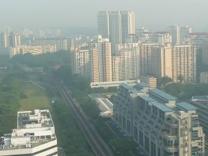 HDB flats on the horizon
