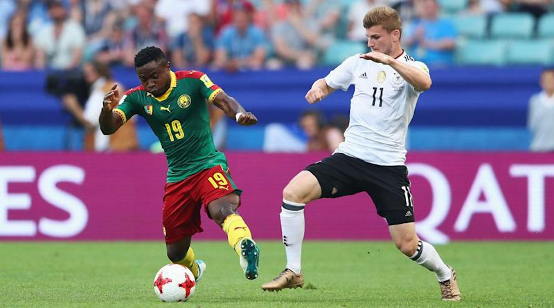 Germany beat Cameroon to enter Confederations Cup semis