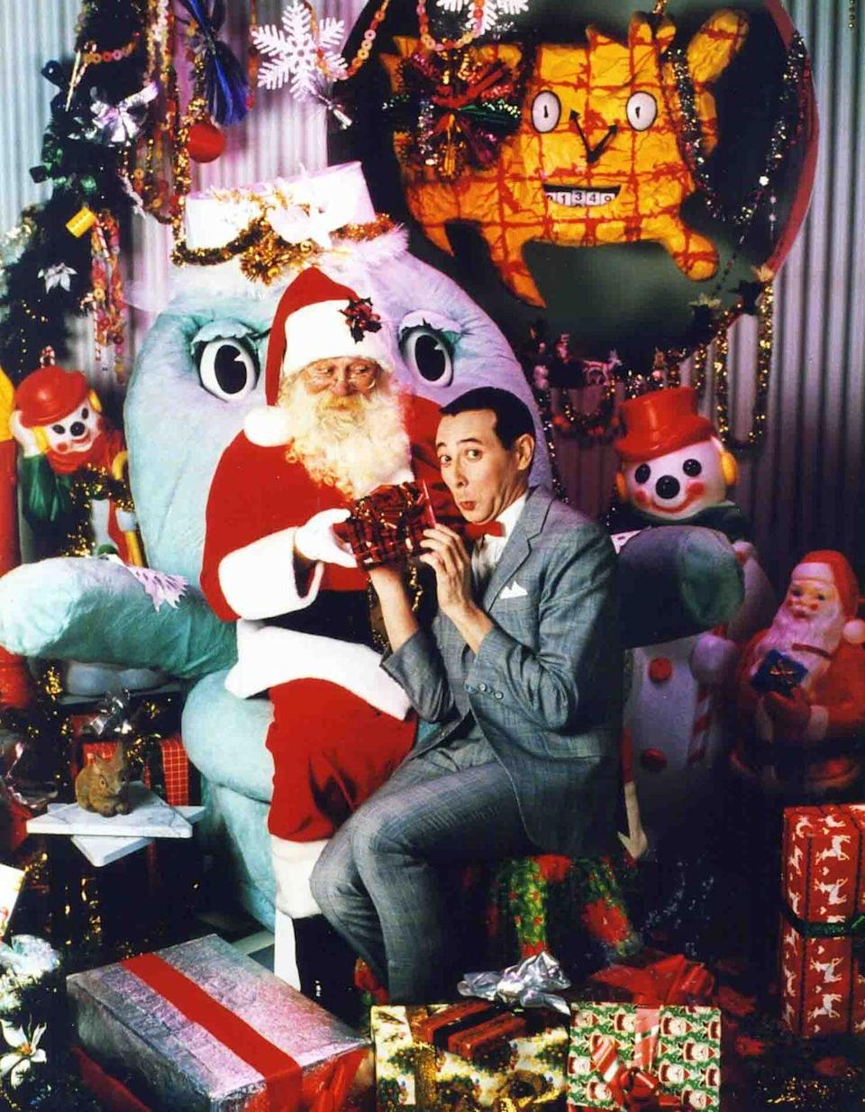 """<p>Pee-wee Herman and friends are celebrating Christmas at the playhouse, and everyone has their own set of traditions to share.</p><p><a class=""""link rapid-noclick-resp"""" href=""""https://www.netflix.com/title/80023921"""" rel=""""nofollow noopener"""" target=""""_blank"""" data-ylk=""""slk:STREAM NOW"""">STREAM NOW</a></p>"""