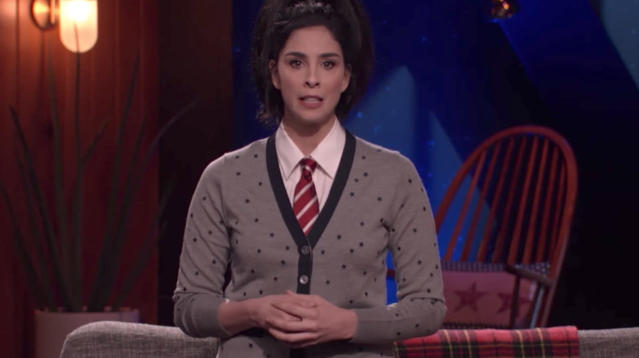 "Sarah Silverman is finally addressing the scandal surrounding one of her ""best friends of over 25 years,"" Louis C.K. On this week's episode of her Hulu show, ""I Love You, America,"" Silverman delivers an emotional opening monologue about the heartbreak, pain and anger she feels toward her friend and fellow comedian, who has been called out for sexual misconduct."
