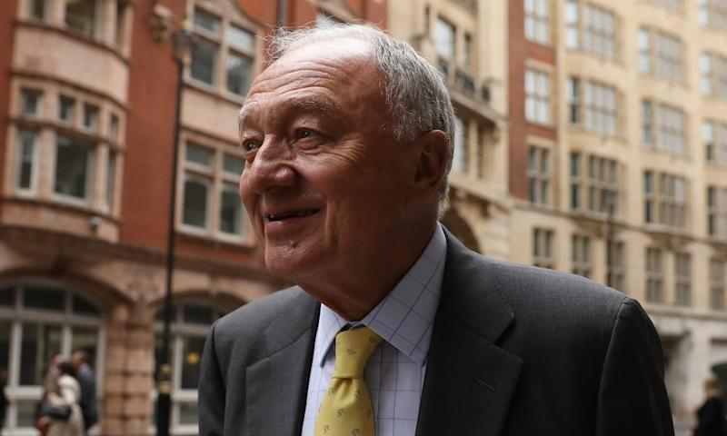 Ken Livingstone appears at a Labour disciplinary hearing in London on 4 April