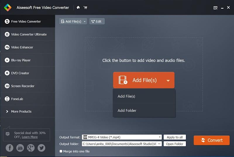 How to convert FLV files to MP4 format in Windows and Mac OS X