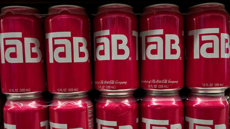 Cans of Tab