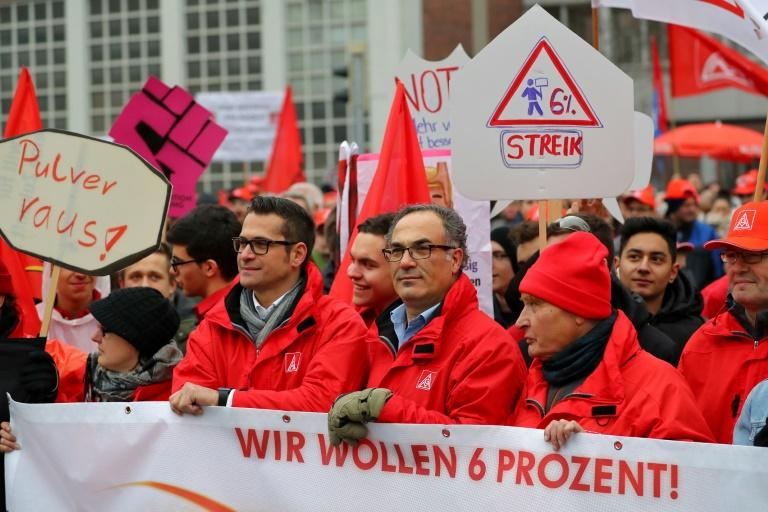 Tens of thousands of German workers downed tools this week as the country's largest union, IG Metall, ramped up pressure for higher wages and a shorter working week