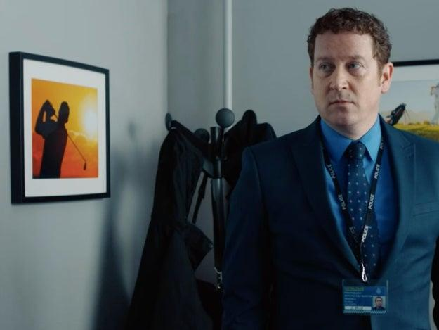 The picture on Buckells' wall in 'Line of Duty has made viewers suspiciousBBC
