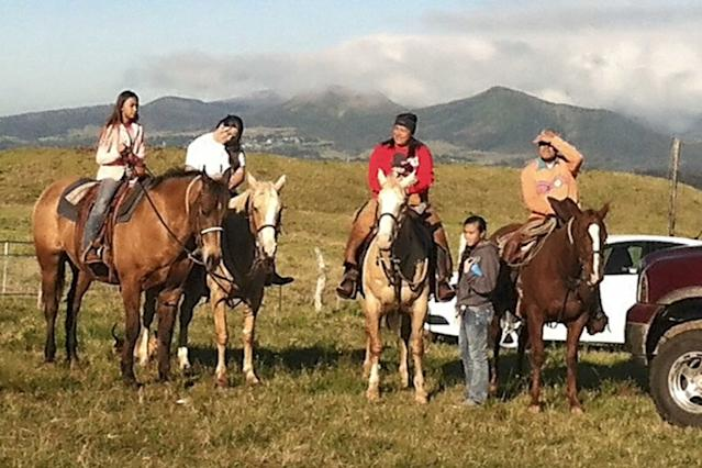 These Native Hawaiians Keep Traditions Alive On Their Ranch Mydaughtersmemydadandmyniece-KEAKEALANI-BERTELMANN-FAMILY-PHOTOReminisce