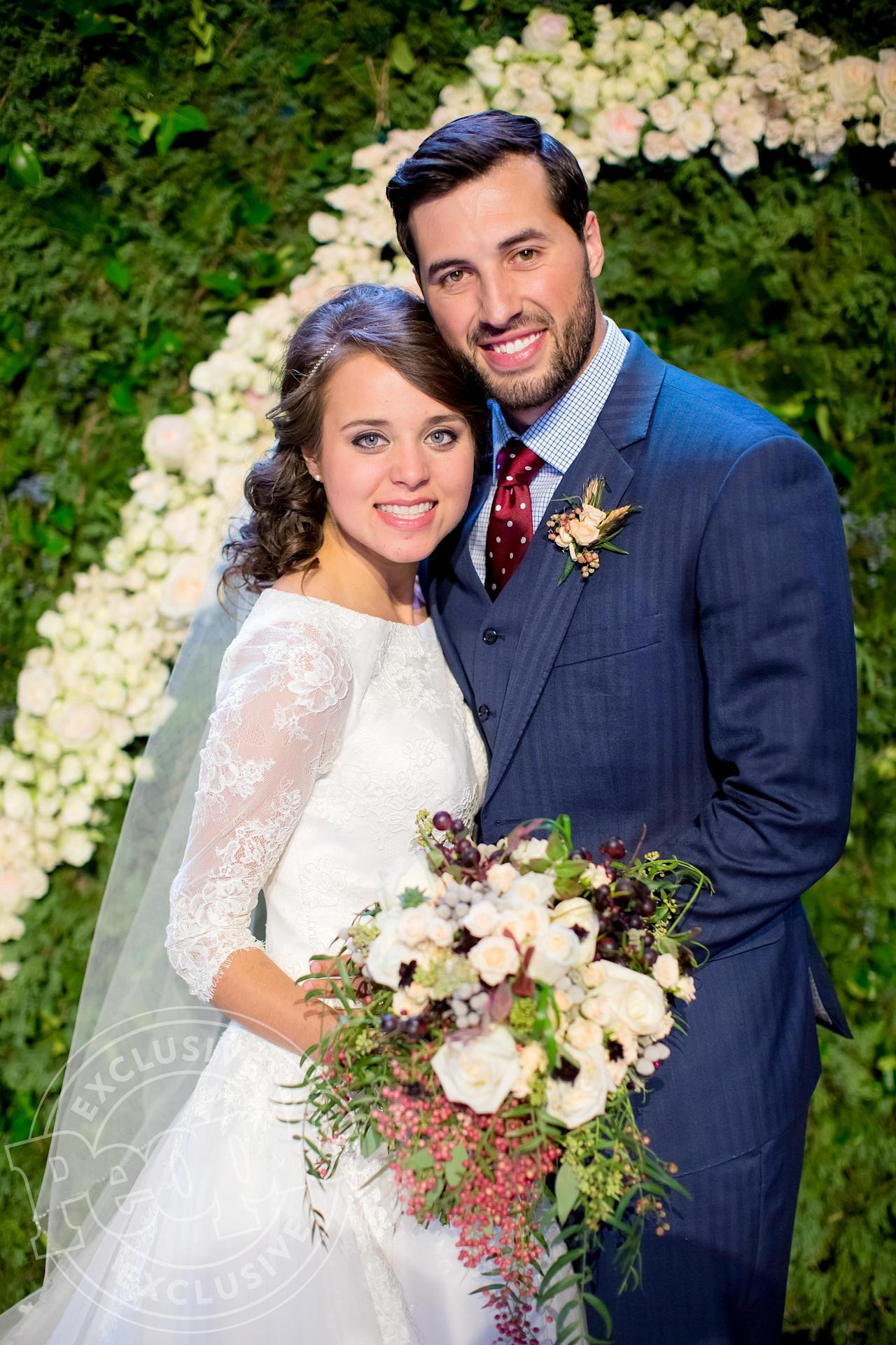 Jinger Duggar And Jeremy Vuolo On Their Wedding Day Saying I Do