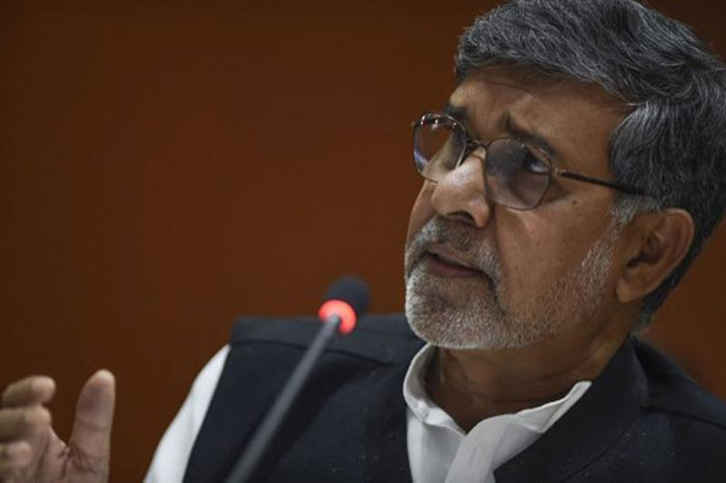 Kailash Satyarthi Calls for Mass Movement Against Child Abuse