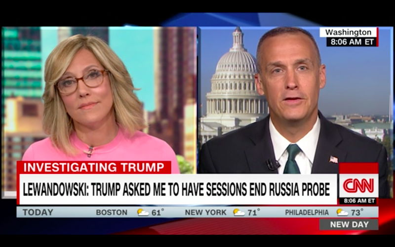 CNN Invited Corey Lewandowski the Day After He Said He Gladly Lies to the Press