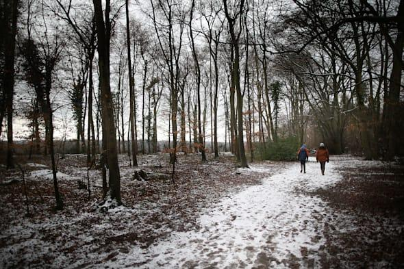Snow In England As Temperatures Remain Low