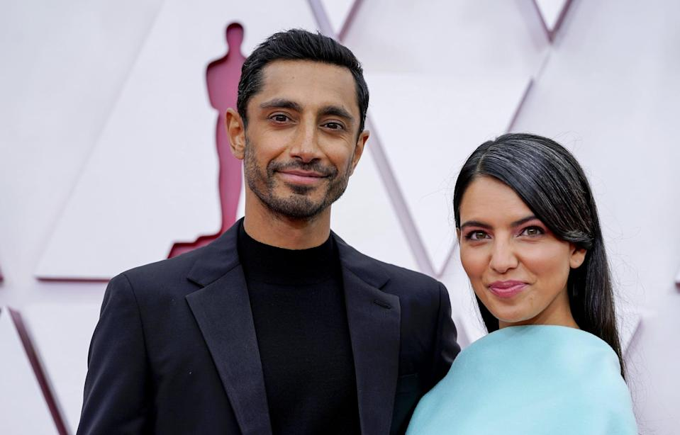 """<p>Even though Riz and Fatima technically tied the knot in 2020, it wasn't until January 2021 that <a href=""""https://www.popsugar.com/celebrity/who-is-riz-ahmed-wife-48108980"""" class=""""link rapid-noclick-resp"""" rel=""""nofollow noopener"""" target=""""_blank"""" data-ylk=""""slk:the actor confirmed the exciting news"""">the actor confirmed the exciting news</a> during an appearance on <strong>The Tonight Show Starring <a class=""""link rapid-noclick-resp"""" href=""""https://www.popsugar.com/Jimmy-Fallon"""" rel=""""nofollow noopener"""" target=""""_blank"""" data-ylk=""""slk:Jimmy Fallon"""">Jimmy Fallon</a></strong>. """"We met so randomly while I was preparing for this role, for <strong>Sound of Metal</strong>, when I was in New York,"""" Riz explained, adding that they """"struck up a friendship and reconnected down the line. But it's weirdly like one of the many things about preparing for this role that was so special - it just brought a lot of goodness into my life."""" Three months later, Riz and Fatima made <a href=""""https://www.popsugar.com/celebrity/riz-ahmed-fatima-farheen-mirza-2021-oscars-pictures-48288613"""" class=""""link rapid-noclick-resp"""" rel=""""nofollow noopener"""" target=""""_blank"""" data-ylk=""""slk:their red carpet debut as a married couple"""">their red carpet debut as a married couple</a> at the Oscars.</p>"""
