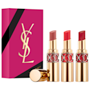 """Nothing says luxury like a gold YSL lipstick, and the creamy, nourishing formula feels just as decadent on. $78, Sephora. <a href=""""https://www.sephora.com/product/yves-saint-laurent-yves-saint-laurent-rouge-volupte-shine-spring-trio-P461300"""" rel=""""nofollow noopener"""" target=""""_blank"""" data-ylk=""""slk:Get it now!"""" class=""""link rapid-noclick-resp"""">Get it now!</a>"""
