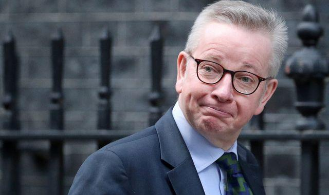 Brexit: Michael Gove says chance EU trade deal will be struck about 66%
