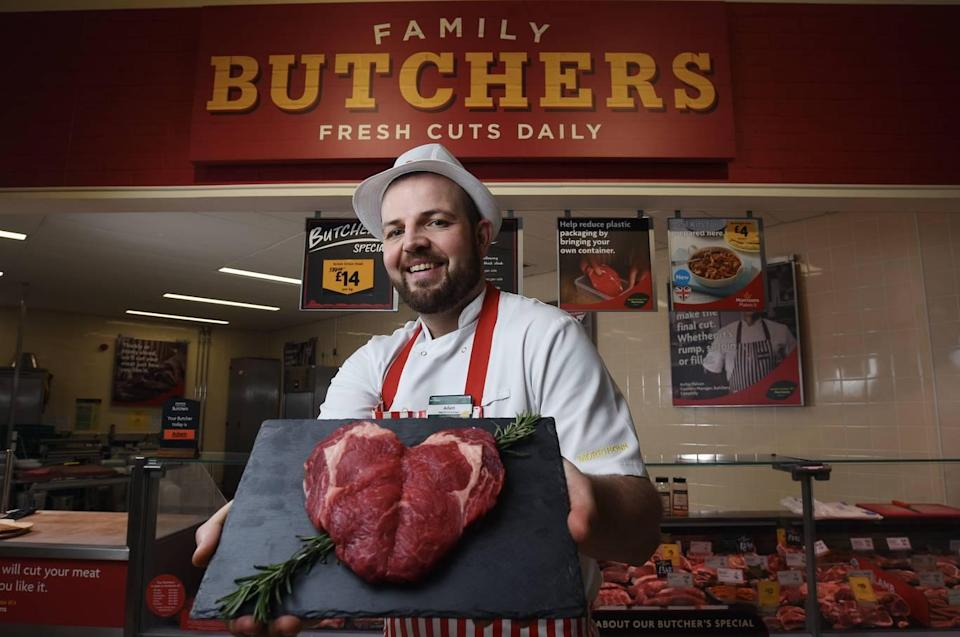 The Sweetheart steak is available to buy for £20 per kilogram. [Photo: Morrison's]