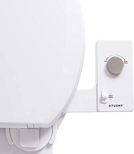 <p>There's also the thinner <span>Tushy Classic 3.0 Bidet Toilet-Seat Attachment (Platinum)</span> ($99) with the silvery knob instead, which is more fingerprint-resistant as compared to the original with platinum knobs.</p>