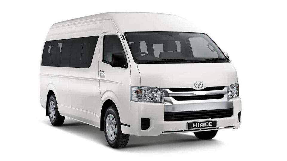 Toyota HiAce MPV launched in India at Rs. 55 lakh