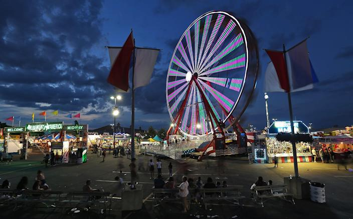 The Ohio State Fair on July 27, 2016.