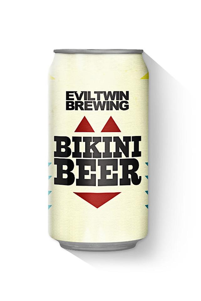 <p>The name says it all, and this low-cal option is sure not to cause a beer gut. IPA lovers, you can't go wrong with a light, hoppy drink that has the calorie count of a piece of fruit. </p><p><strong>Evil Twin Brewing Company Bikini Beer (2.7%ABV), 81 calories</strong></p>