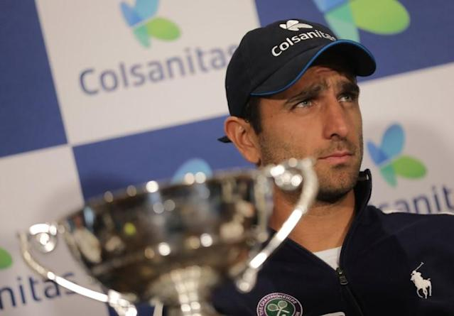 Tennis - Colombia's Cabal and Farah returns to Colombia after winning Wimbledon