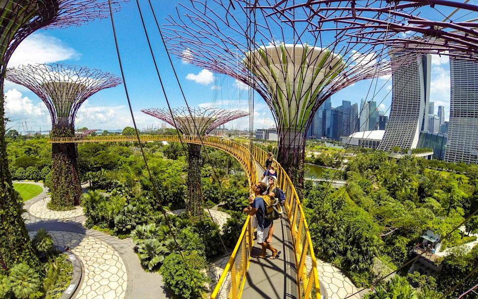 gardens by the bay, singapore - Getty