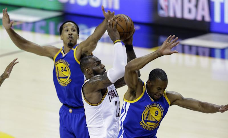LeBron James totaled 39 points, 11 rebounds and nine assists in Game 3. (AP)