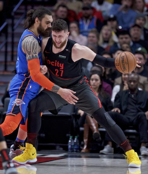 Blazers Win Tonight: Thunder Get Wild 129-121 OT Victory Over The Trail Blazers