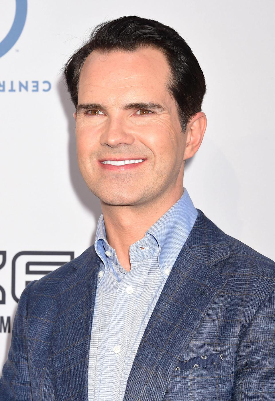 Comedian Jimmy Carr attends The Comedy Central Roast of Rob Lowe at Sony Studios on August 27, 2016 in Los Angeles, California. (Photo by Jeffrey Mayer/WireImage)